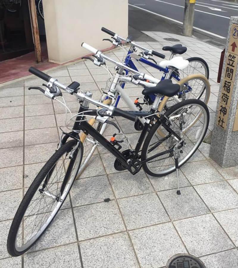 スポーツ自転車のレンタル始めました