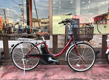 電動アシスト自転車試乗